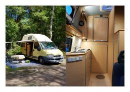 Camping und Innenansicht