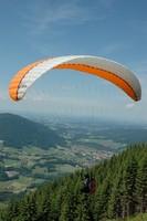 Abflug am Unternberg