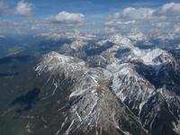 Flug in die Dolomiten