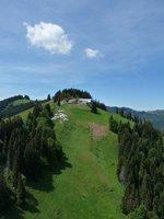 Mittag Gipfelbereich