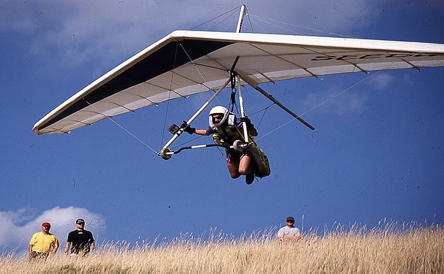 DHV Hanggliding and Paragliding in Germany: Flying Sites