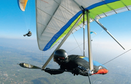 DHV Hanggliding and Paragliding in Germany: Home English